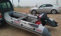 Моторная надувная лодка Посейдон Сапсан 340