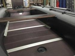 Изготовление разборного пайола в лодку пвх: фанера 9мм + профиль + стрингера 280-330