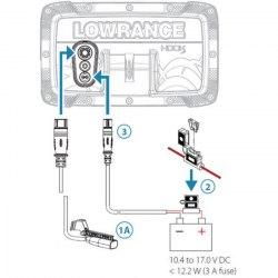 Эхолот Lowrance Hook-2-5Х GPS Splitshot