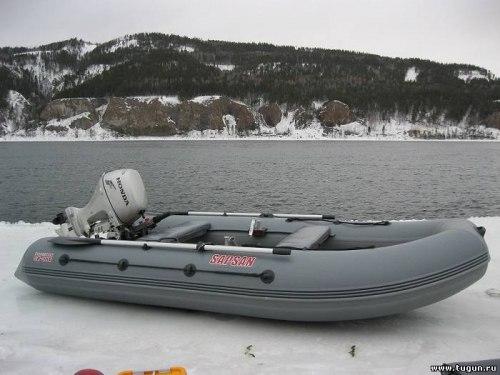 Надувная моторная лодка Посейдон Сапсан 360