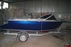Лодка Quintrex 475 Coast Runner Blade hull