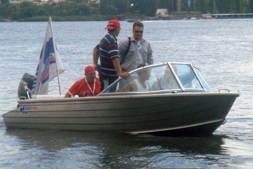 Лодка Quintrex 455 Coast Runner Blade hull