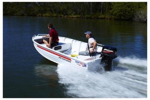 Лодка Quintrex 390 Dart