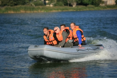 Лодка Посейдон Касатка 385 Sport