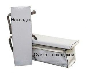 Комплект мягких накладок 850х240
