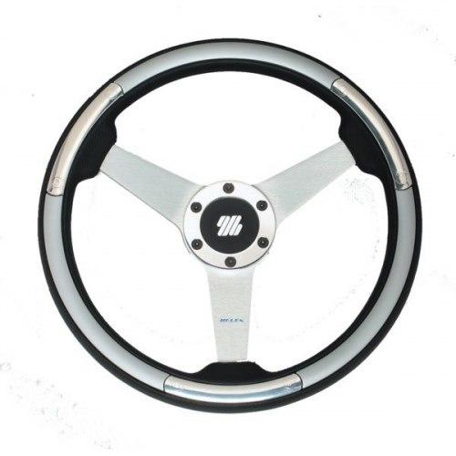 Колесо рулевое LINOSA S/S серебристое ULTRAFLEX LINOSA S/S
