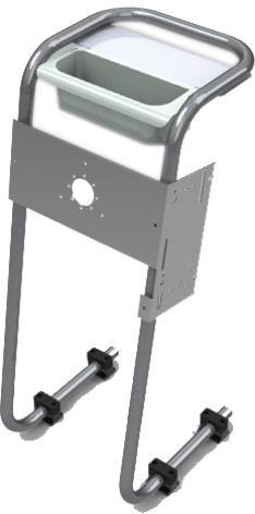 Консоль рулевая 25 мм с органайзером Техномарин 040401Т