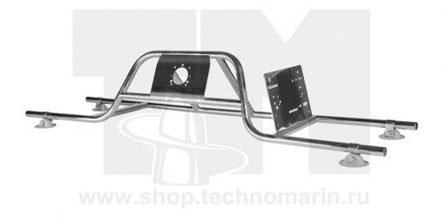 Консоль рулевая с бортовым креплением малая модерн Техномарин 040403T1