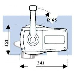 Контроллер вертикального крепления ULTRAFLEX B90