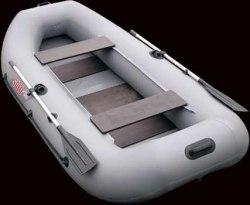 Гребная надувная лодка Посейдон Соло-290
