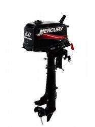 Лодочный мотор Mercury ME 5M Mercury Marine + бак 12л