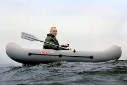 Гребная надувная лодка Посейдон Соло-270
