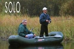 Гребная надувная лодка Посейдон Соло-250