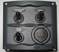 Панель переключателей Easterner 900-3WPS