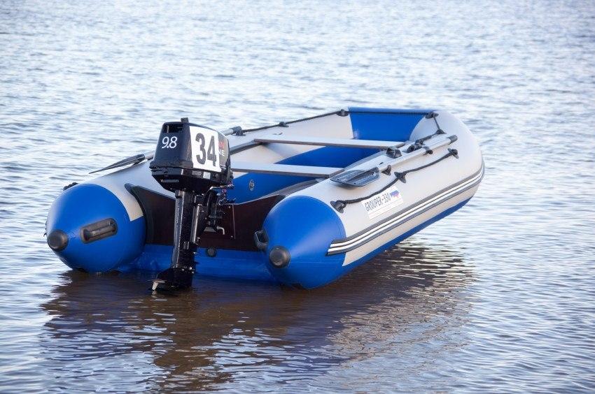 лодка пвх 330 с надувным дном купить
