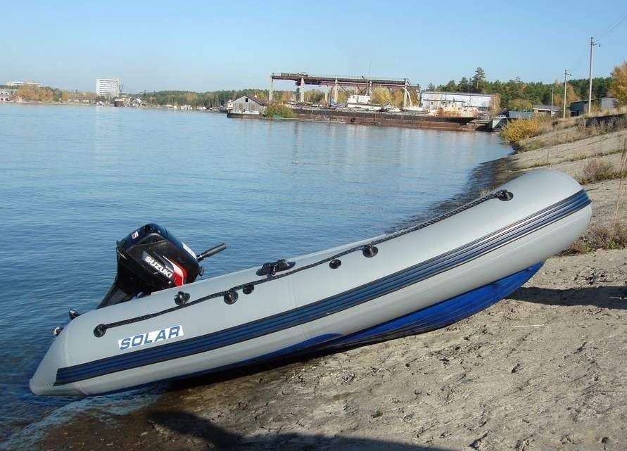 рыболовные лодки солар купить в москве