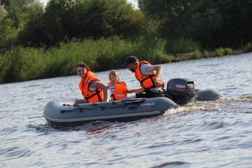 лодки пвх кайман 330 с надувным дном