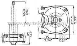 Рулевой редуктор ULTRAFLEX T 71