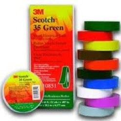 Изолента Scotch 35 ПВХ 20м*19мм 3М желт 3М 35 ж