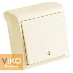 Выключатель 1 проходн. откр Вера крем Viko VERA 90681204