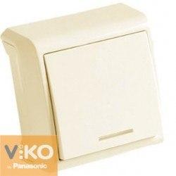 Выключатель 1 с подсветк откр Вера крем Viko VERA 90681219