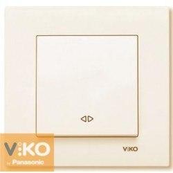 Выключатель перекрестный скр. Карре крем Viko KARRE 90960131