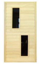 Дверь со стеклянной вставкой ДО-1