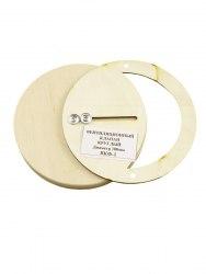 Вентиляционный клапан круглый (основание фанера), д100мм