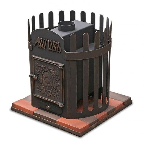 Печь-каменка для бани ЛиговЪ Корона 12Ч
