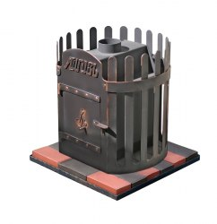 Печь-каменка для бани ЛиговЪ Корона Подовая 12СТ