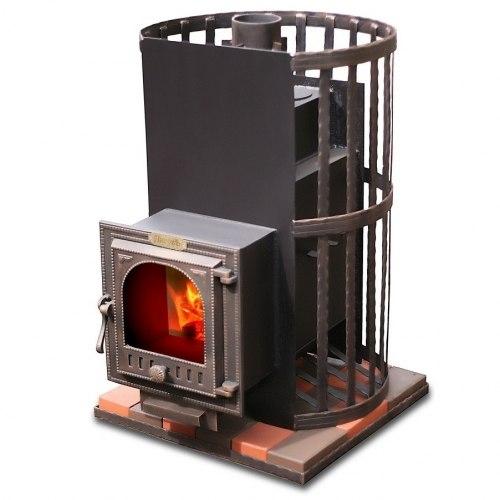 Печь-каменка для бани ЛиговЪ Стандарт 30 ВК