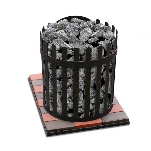 Печь-каменка для бани ЛиговЪ Корона подовая 12 ВСт