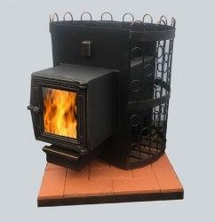 Печь-каменка для бани ЛиговЪ Триумф 14-24ВС