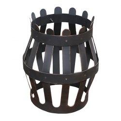 Сетка для камней на трубу ЛиговЪ Корона малая