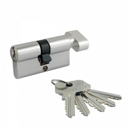 Цилиндровый механизм Нора-М ECO Z ЛВ ключ/вертушка симметричный
