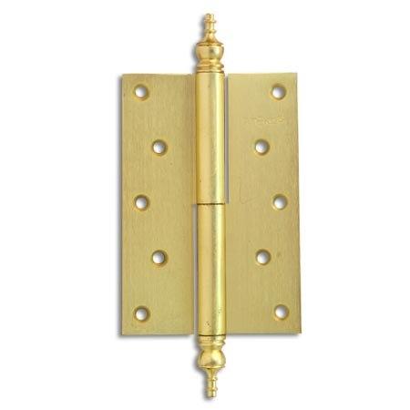 Петля Apecs 120*80-F-GМ-L матовое золото левая
