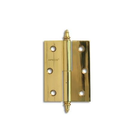 Петля Apecs 80*60-F-Brass-G-L золото левая