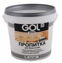 Пропитка для бань и саун GOL sauna PALISH 3л