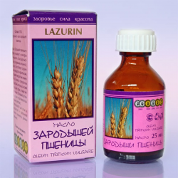 Масло зародышей пшеницы 25мл LAZURIN