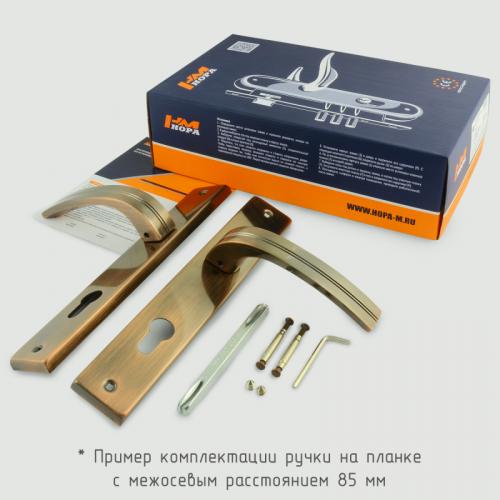 Ручка на планке Нора-М 106-85 мм