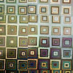 Пленка самоклеящаяся SOLLER М011 СЕРЕБРИСТАЯ 0,45*8М голограмма