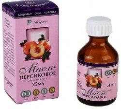 Персиковое масло (косметическое) и/у 25мл LAZURIN
