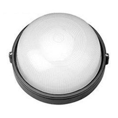 Светильник черный/круг 60Вт IP54 TDM НПБ1301
