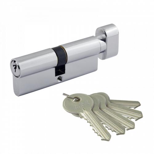 Цилиндровый механизм Нора-М ECO AL LB ключ/вертушка симметричный