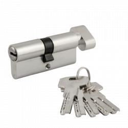 Цилиндровый механизм Нора-М ECO AL ЛПВ ключ/вертушка симметричный