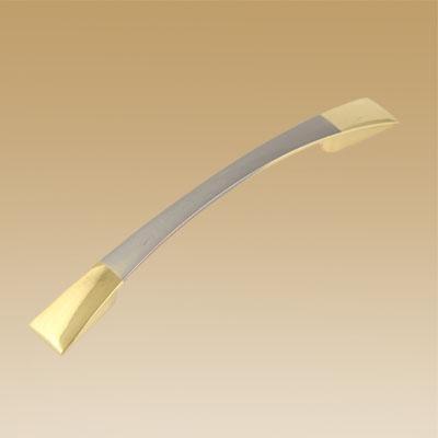 Ручка мебельная мат.хром/зололто 2058-96 м