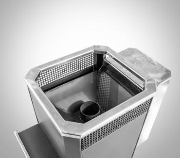 Печь банная Радуга ПБ-31 с теплообменником