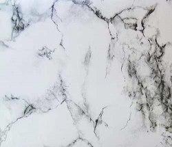 Пленка с/к 67,5мх8м (мрамор бело-черный) Deluxe 3958