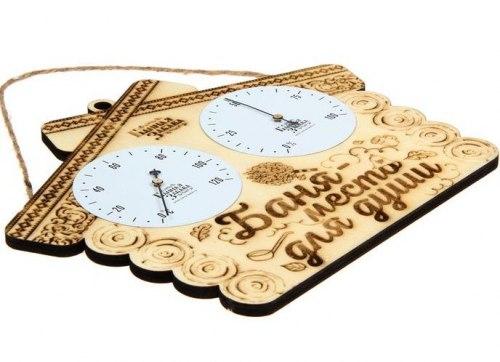 "Термогигрометр ""Баня - место для души"" Банная забава 1272039"