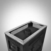 Печь банная Радуга ПБ-34 с теплообменником ст.6мм